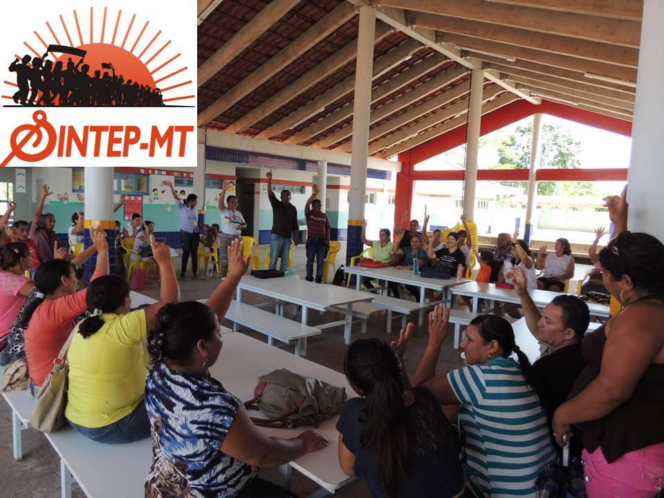 Sintep realiza etapa municipal do Encontro Estadual de Educação e Seminário pela valorização e formação de profissionais em Jangada