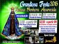 Vem ai! Dias 10, 11 e 12 a Tradicional Festa em honra a Nossa Senhora Aparecida em Jangada