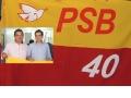 Deputado Fabio Garcia lança Junior como pré-candidato à Prefeitura de Jangada, durante encontro municipal do PSB