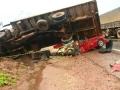 Trecho da BR-163 é liberado 5h após acidente que matou 5 pessoas em MT