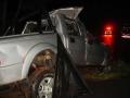 Casal morre e três crianças ficam feridas após carro bater em capivara e capotar em MT