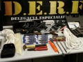 Casal é preso com 5 pistolas roubadas de empresa de caça e pesca