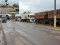 BR-364 em Jangada é liberada, após acidente mas trânsito continua lento neste final da tarde