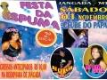 É sábado (01) 2ª edição da festa da espuma no Clube do PaPai em Jangada