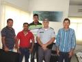 Prefeito e vereadores reúnem com coronel Prado em busca de melhorias na segurança pública dos Jangadense