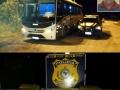 PRF prende motorista que transportava drogas em ônibus do Consórcio Intermunicipal de Saúde