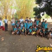 Alunos da Escola Luiza Soares Boabaid de Nova Jangada
