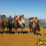 Presença da Comitiva Boiadeiro de Palavra de Jangada na 14ª Cavalgada da Serra Acima