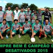 Final do Campeonato dos Desativados 2015